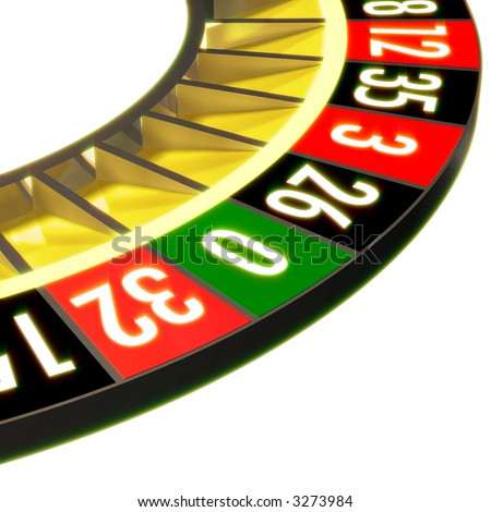 Roulette without ball section