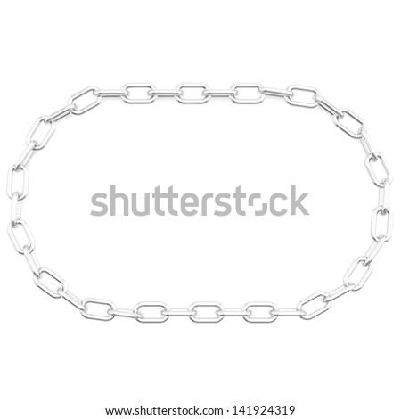 Round chain - stock photo