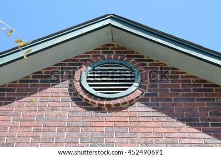 Round Gable   Roof Vent