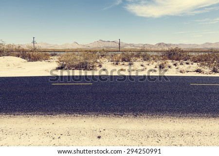 Route 66 - stock photo