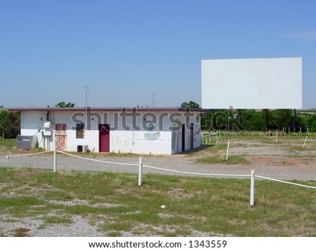 Route 66 Drive in - stock photo