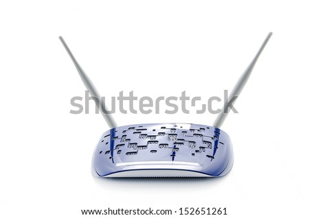 Router - stock photo