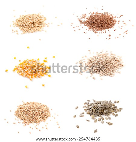 Flax Buckwheat Wheat
