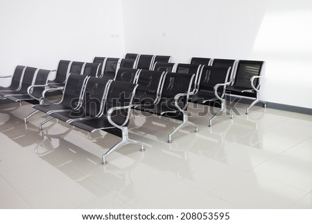 Row of Chair - stock photo