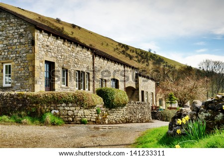Row of cottages at Buckden in the Yorkshire Dales