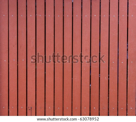 Rows of arrangement of wood wall. - stock photo