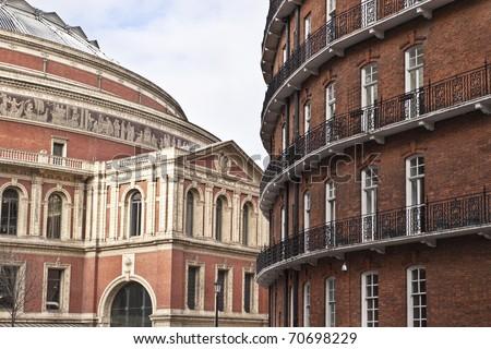 Royal Alber Hall - stock photo