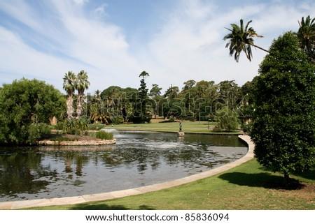 Royal Botanical Garden of Sydney, Australia - stock photo