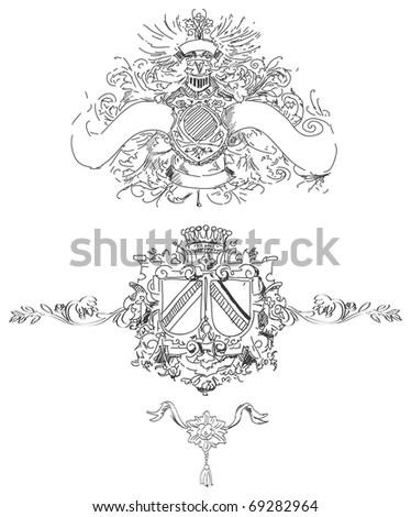 Royal Crest - stock photo