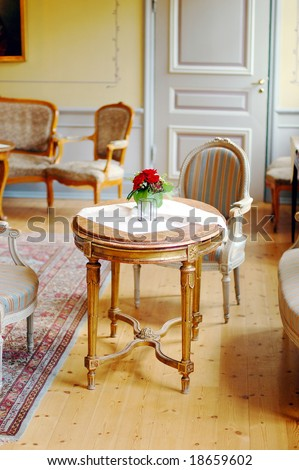 Royal Furniture Old Manor Stock Photo 18340927 Shutterstock