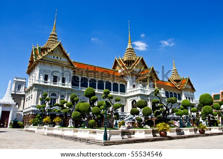 Royal Grand Palace, Bangkok Thailand - stock photo