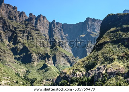 Royal Natal National Park in the Drakensberg Mountains, South Africa