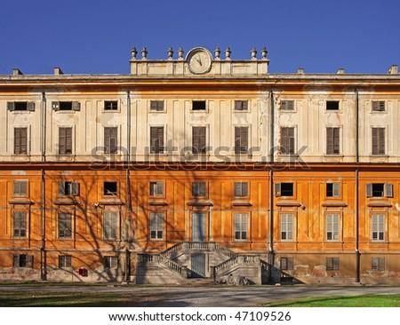 Royal Palace abandoned - stock photo