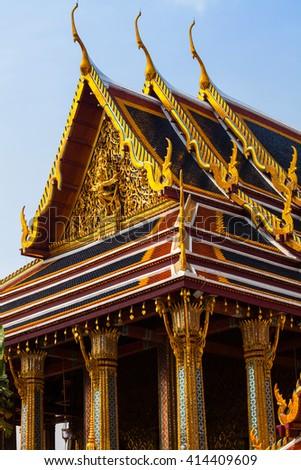 royal palace in Bangkok, Thailand - stock photo