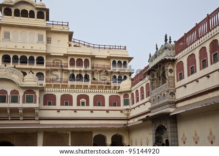 Royal palace in India