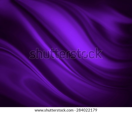 royal purple background abstract cloth or liquid wave illustration. Wavy folds of silk texture satin or velvet material. Elegant curves of rich purple shiny material.  - stock photo