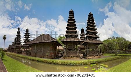royal temple Taman Ayun, Bali, Indonesia - stock photo