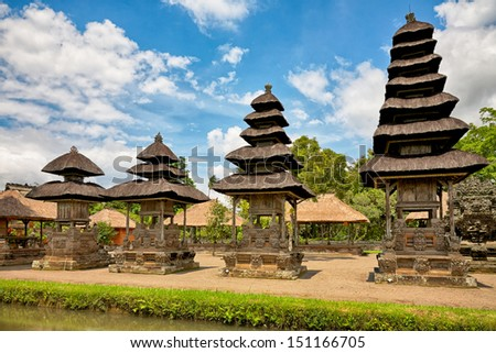 royal temple Taman Ayun, Mengwi, Bali, Indonesia - stock photo