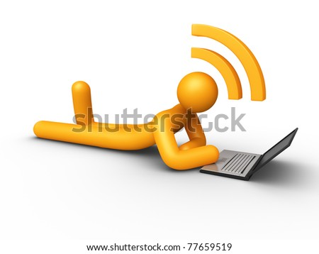 RSS Rich Site Summary (Isolated) - stock photo