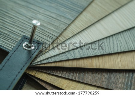 rubber flooring styles for designer to choose - stock photo