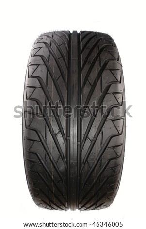 Rubber tire - stock photo