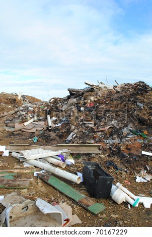 Rubbish dump, Port Alfred, Eastern Cape, South Africa