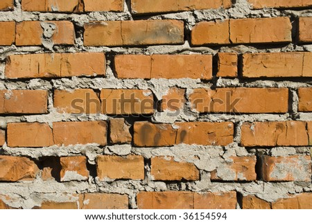 rubble - stock photo