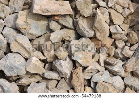 rubble , background - stock photo