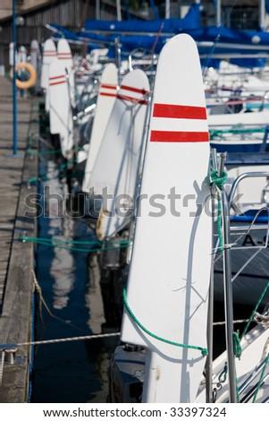 rudder - stock photo