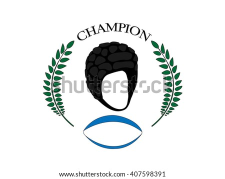 Rugby Champion 3 - stock photo