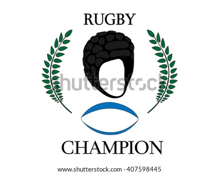 Rugby Champion 4 - stock photo