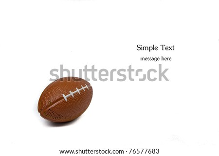 Rugby sport background - stock photo