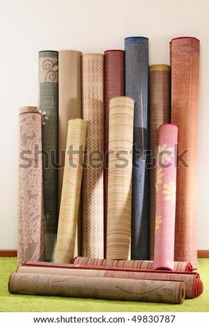 Rugs. - stock photo
