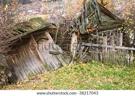 Ruin - stock photo