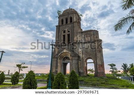 Ruins church