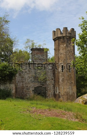 Small castle stock images royalty free images vectors for Small chateau