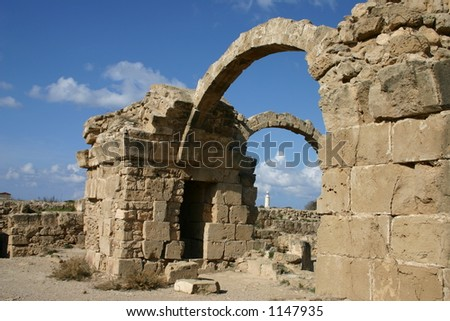 ruins of pafos