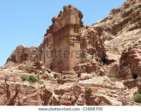 Ruins of Petra, Jordan, Middle east