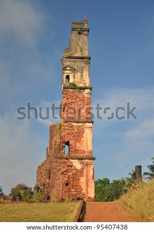 Ruins of St Augustine Church(2), Goa India