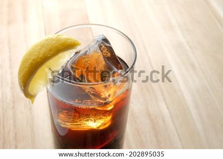 rum coke - stock photo