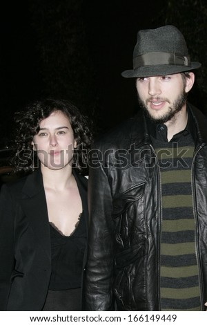 Rumer Willis, Ashton Kutcher, Demi Moore at THAT70sSHOWSeriesFinaleParty, Tropicana at the Roosevelt Hotel, Los Angeles, CA, May 06, 2006 - stock photo