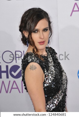 Rumer Willis at the People's Choice Awards 2013 at the Nokia Theatre L.A. Live. January 9, 2013  Los Angeles, CA Picture: Paul Smith