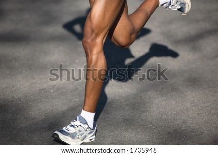 Running in a race