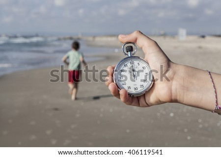 Running Out Of Time - stock photo
