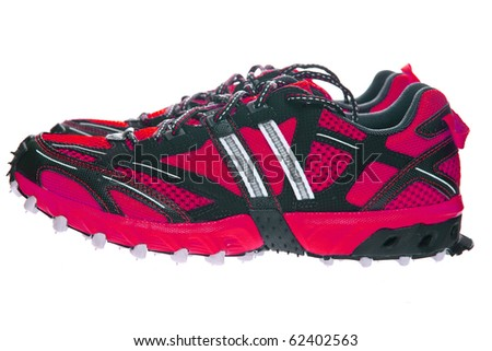 running shoes - stock photo