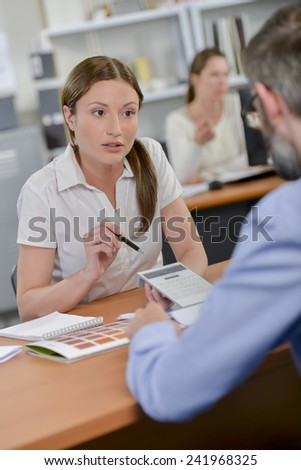 Running the numbers - stock photo