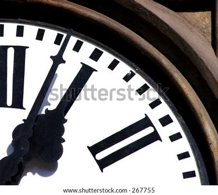 Running Time - stock photo