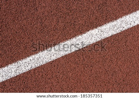 Running Track - stock photo