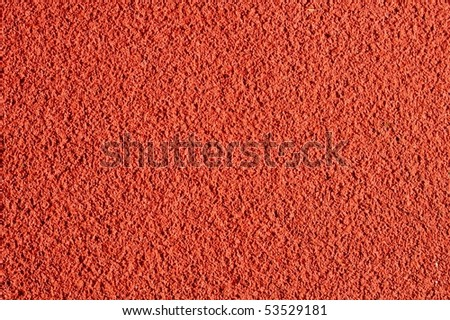 Running track rubber cover - stock photo