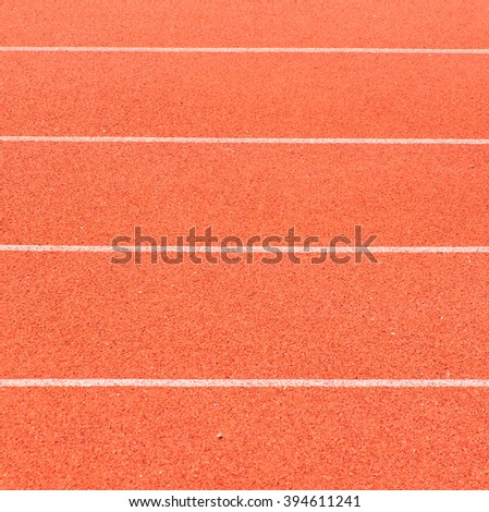 running track texture background - stock photo